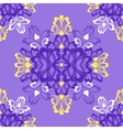 Violet seamless pattern vector image