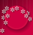 Abstract Christmas card background vector image vector image