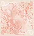 grange background with lace pattern vector image vector image