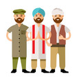 group of people flat style colorful vector image vector image