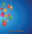 Happy Christmas background vector image