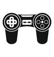 Joystick icon simple style