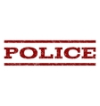 Police Watermark Stamp vector image vector image