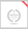 premium brand icon vector image vector image