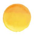 bright light yellow watercolor banner blot vector image