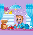 baby room theme image 2 vector image vector image