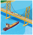 Bay Bridge vector image
