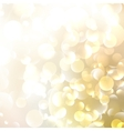 Beautiful defocused golden background vector image