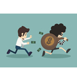 steal money from business man vector image vector image