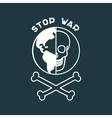 Stop War Poster vector image vector image