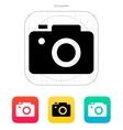 SLR camera icon vector image