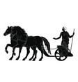 ancient greek goddess hera vector image vector image