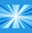 blue abstract rays wallpaper vector image