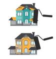 Concept renovation House remodelingflat design vector image vector image