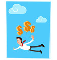 Lifted dy Dollar vector image
