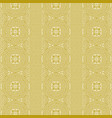 repeating background in line art greek style vector image vector image