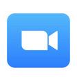 zoom app logo vector image