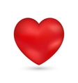 Shiny heart Valentine romantic background vector image