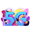 5g network concept vector image