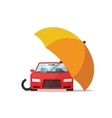 Car insurance concept auto protection vector image