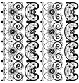 french or english lace seamless pattern vector image vector image