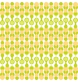 Greenish metaball seamless pattern vector image