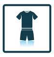 Icon of Fitness uniform vector image vector image