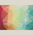 abstract geometric mosaic background pastel color vector image