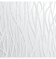 Abstract White Wavy Background vector image vector image