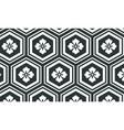 asian kikko seamless pattern as turtle hexagons