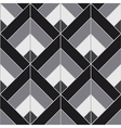 Bohemian Black White Pattern Background vector image vector image