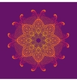 Kaleidoscopic floral pattern mandala design in