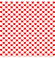 red hearts background love background heart vector image vector image