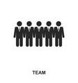team icon line style icon design ui vector image vector image