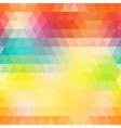 Abstract geometric triangle background Colorful vector image