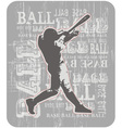 BASE BALL bR vector image vector image