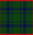 clan cranstoune scottish tartan plaid seamless vector image vector image