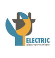 electric services or station electricity isolated vector image