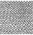 irregular zig zag pattern vector image