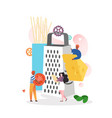 italian cuisine concept for web banner vector image