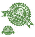 St Patricks Day Stamps vector image