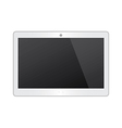 White Tablet vector image vector image