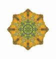 african art background design vector image