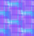 Abstract Blue and Lilac Pattern from Squares vector image vector image