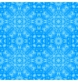 blue seamless pattern for fabric vector image