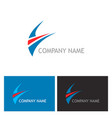 business company logo vector image