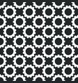 cog wheel seamless modern geometric pattern vector image