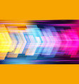 high speed abstract technology background vector image vector image