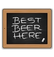 Menu - beers on the blackboard vector | Price: 3 Credits (USD $3)