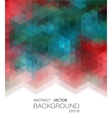 Abstract geometric colorful vector image vector image